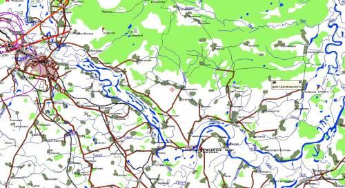 Карта рязани с строевское